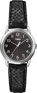 Timex Women's T2P0809J Analog Display Analog Quartz Black Watch