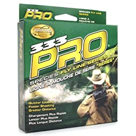 Cortland 333 Pro Trout Floating Fly Line, Yellow, WF7F