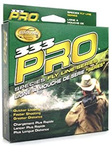 Cortland 333 Pro Trout Floating Fly Line, Yellow, WF9F