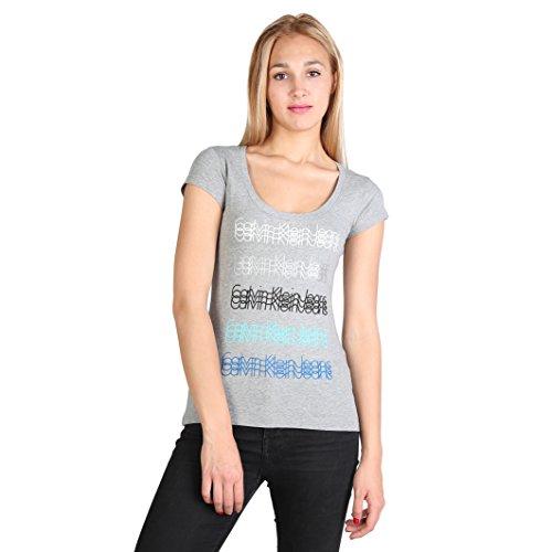 T-shirt Calvin Klein Donna Grigio XXL