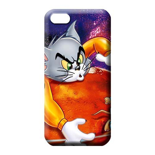 iPhone 5 / 5s / SE Durability Compatible High Grade Cases phone case skin Tom & Jerry