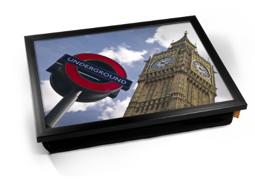 London Underground & Big Ben Cushion