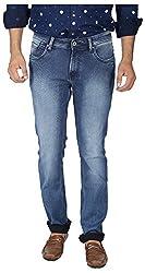 EASIES Men's Slim Fit Jeans (1096 BNDFT DWIND_36, Blue, 36)