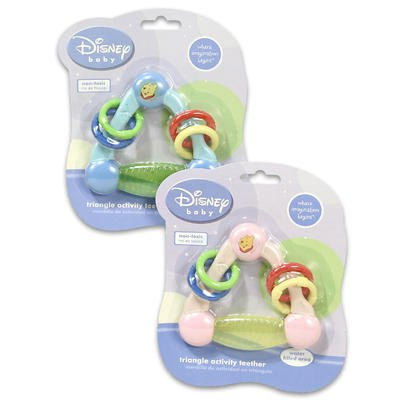 Winnie The Pooh Activity Triangle Teether front-103501