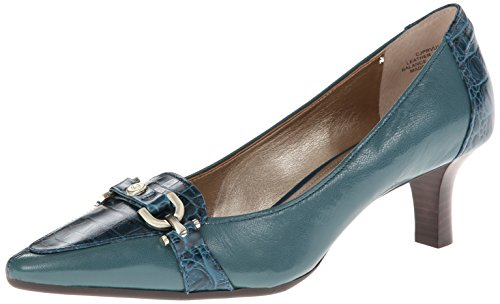 Circa Joan & David Women's Prvue Dress Pump, Turquoise, 8.5 M US