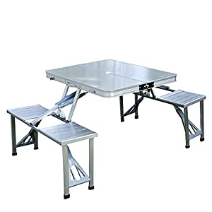 portable folding cing picnic table field kitchen