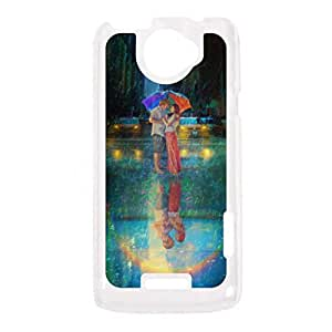 a AND b Designer Printed Mobile Back Cover / Back Case For HTC One x (HTC_One_X_667)