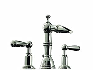 Santec Heritage Collection Widespread Lavatory Faucet 6120ey97 Touch On Bathroom Sink