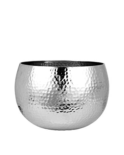 Lene Bjerre Abigine Large Silver-Tone Flower Pot