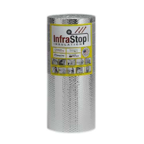 InfraStop 24″ X 25′ Double Bubble Reflective Foil Insulation