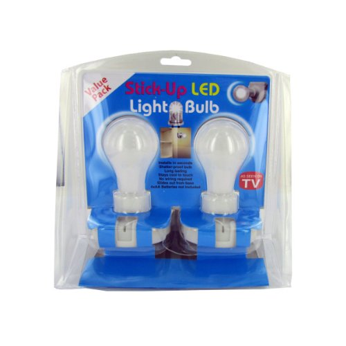 Wall Light Bulb As Seen On Tv : Stick-up Led Light Bulb Value Pack As Seen On Tv Products - Infomercial Items-SeenAsOnTv.com
