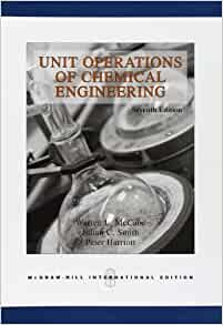 unit operations  chemical engineering warren  mccabe julian  smith peter harriott