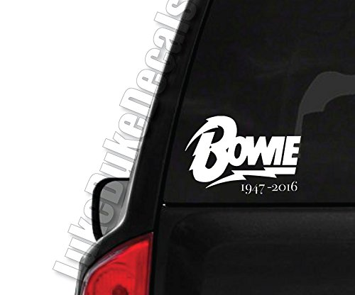 Bowie 1947- 2016 _ rip David Bowie car window vinyl decal bumper sticker (David Bowie Decal compare prices)