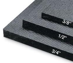 """Rubber Flooring Mat (4'x6'x1/2"""")"""