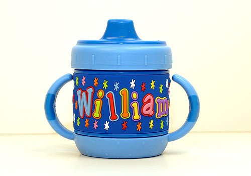 Personalized Sippy Cup: William front-661184