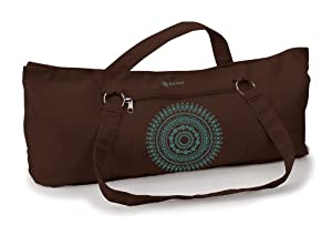 Gaiam Marrakesh Embroidered Yoga Mat Tote Bag