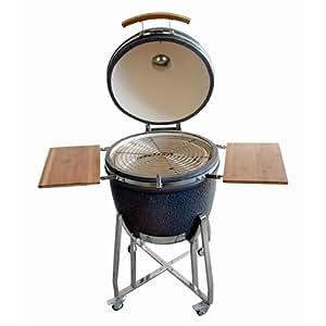 Gourmetpot Charcoal Kamado Bbq Barbeque Ceramic Smoker Grill /Large