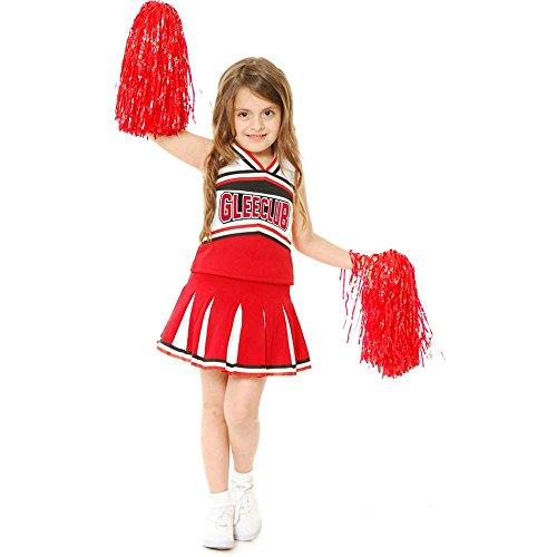 [Glee Club Cheerleader Kids Costume] (Glee Cheerleader Halloween Costumes)