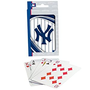 MLB New York Yankees Vortex Playing Cards
