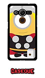 Caseque Minion Thor Back Shell Case Cover for Samsung Galaxy Core 2