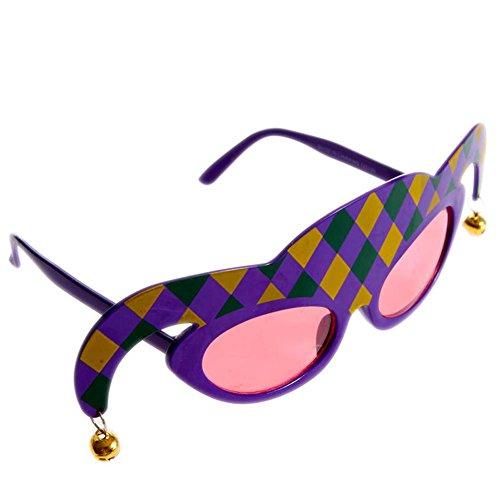 Mardi Gras Sunglasses - 1