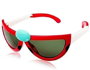 Crap® Eyewear | The Wild Gift White Acetate Cat-Eye ...  |Cartoon Red Sunglasses