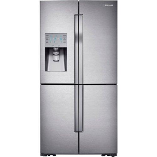 Samsung Rf32Fmqdbsr 4-Door Refrigerator With Convertible Zone, 32 Cubic Feet