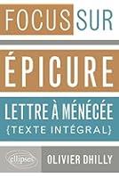 Epicure Lettre à Ménécée Texte Intégral