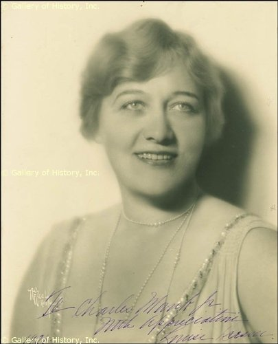 Louise Dresser - Inscribed Photograph Signed 1928