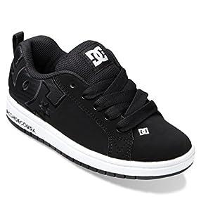 DC Court Graffik Se Sneaker (Little Kid/Big Kid),Black/Black,11 M US Little Kid