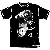 ボトムズ 実物大ターレット Tシャツ ブラック : サイズ XL
