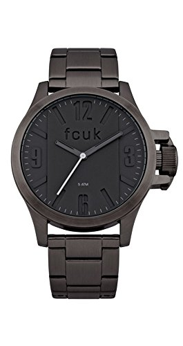 FCUK Analog Black Dial Men's Watch - FC1162BMGJ