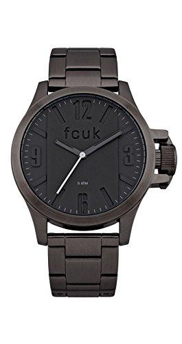 FCUK Analog Black Dial Men's Watch - FC1162BMGJ
