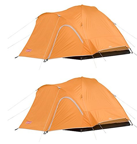 2-COLEMAN-Hooligan-3-Person-Camping-Dome-Tents-w-WeatherTec-System-8-x-7