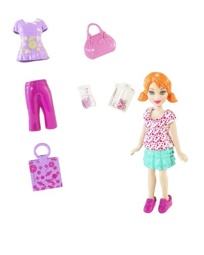 Buy Low Price Mattel Polly Pocket Designables Doll Pack Figure (B001P81WTE)