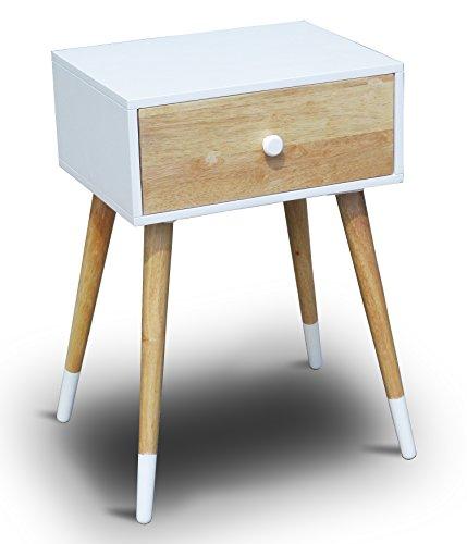 nachttische mit schubladen bettmix. Black Bedroom Furniture Sets. Home Design Ideas