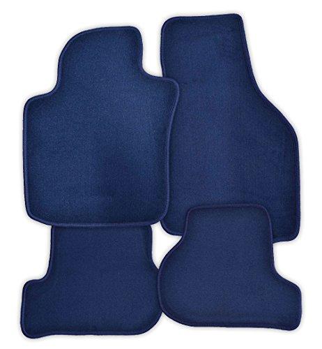 Fussmatten Velours blau Juwel passend für MAN M2000 30.12.1899- X vl+vr+Mittelkonsole,3-tlg LKW