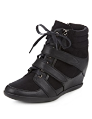 Limited Edition Platform Wedge Ankle Boots with Insolia®