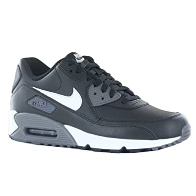 Nike Air Max 90 Essential Black White Mens Trainers Size 12 UK