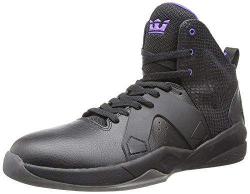 Supra Magazine sneaker - Black/Purple - Black, (nero), 11 UK