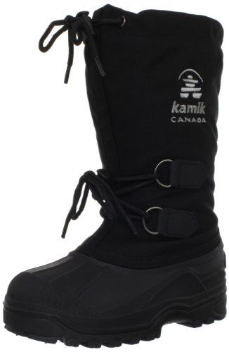 Kamik Canuck Jr Boot (Toddler/Little Kid/Big Kid),Black,1 M US Little Kid