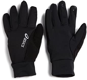 ASICS Unisex Adult Thermopolis Gloves,Black,Large-X-Large