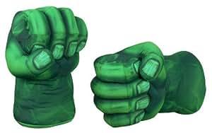 Hulk Smash Hands Soft Toy Doll Gloves Big Green One Pair Fun New
