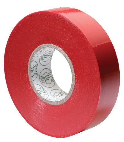 Gardner Bender GTR-667P 3/4 by 66-Foot Red Electrical Tape