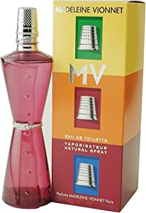 Madeleine Vionnet Mv By Madeleine Vionnet For Women. Eau De Toilette Spray 3.4 Ounces