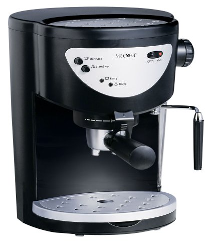 Mr. Coffee ECMP40 Pod Pump Espresso & Cappuccino Maker