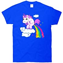 Unicorn Pooping A Rainbow T-Shirt