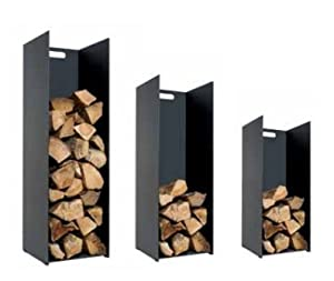 Stovax Steel Log Holder In 3 Sizes Wood Basket Fireplace