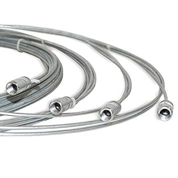 Schornsteinbesen Stahl Kaminbesen Stahldraht für versch Durchmesser