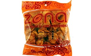 Kukagumi Spicy Oat Nuts Emping Pedas -423oz 3 Units By Zona